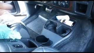 Shampoo Car Carpet And Remove Stains for $1 } Dry In 5-10 Minutes
