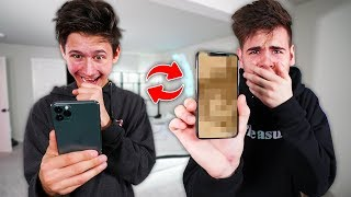 switching-phones-with-my-little-brother-challenge