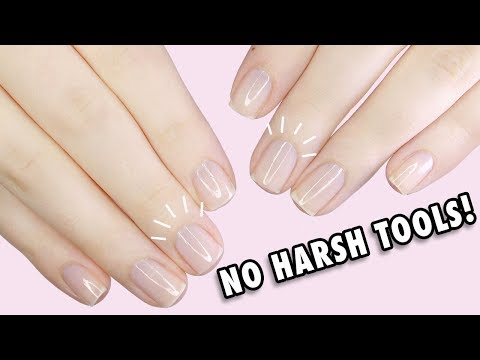DIY Healthy Natural Nail Care Routine At Home | NO CRAZY TOOLS NEEDED!