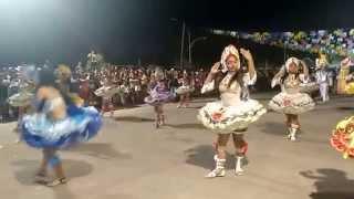 Quadrilha Pequena Dama 2015 no Festival Junino de Breu Branco  PA