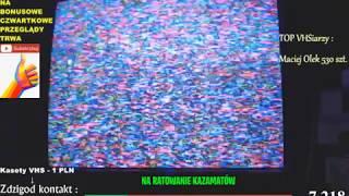 #KAZAMATY 60 (100) PRZEGLĄDAMY 100 KASET! 40 SZTUK OSTATNIA ODSŁONA NR 3   VHS RECORDS