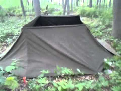 4 person pup tent configuration & 4 person pup tent configuration - YouTube