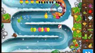 Bloons Monkey City: Glacier Special Mission!