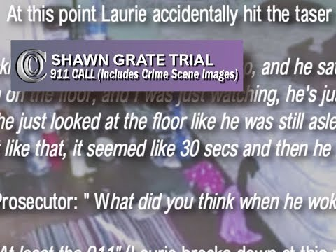 📞 FULL 911 CALL - SHAWN GRATE TRIAL (Includes Crime Scene Images) (2018)