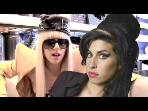 Lady Gaga talking about Amy Winehouse (2008 INTERVIEW)