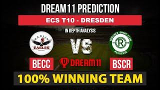 Visit our website luckbet:- https://www.luckbet24x7.com/bscr vs becc dream11prediction, bscr dream11 team, becc, ecs t10 dresdenbscr ...