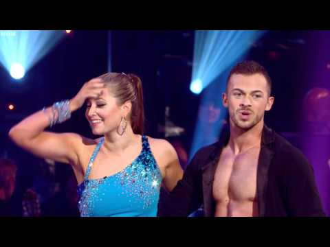 Holly Valance and Artem Chigvintsev dancing the Salsa High Definition Version