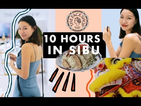 10 HOURS IN SIBU - THE FACE SHOP