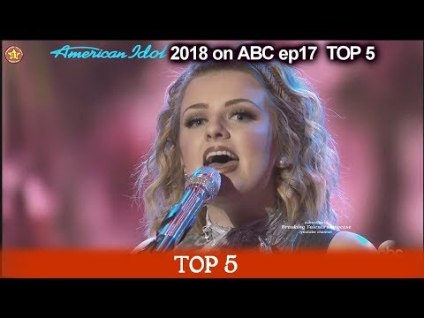 "Maddie Poppe sings ""I Told You So"" Katy JUST WAITING FOR HER RECORD American Idol 2018 Top 5"