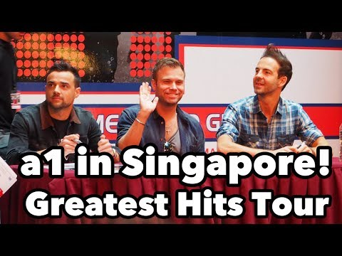 Meet the a1 - Here We Come...Back! Greatest Hits Tour Singapore October 26, 2016