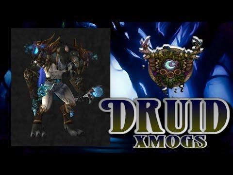 Druid Transmogs - White Forest Xmog Set