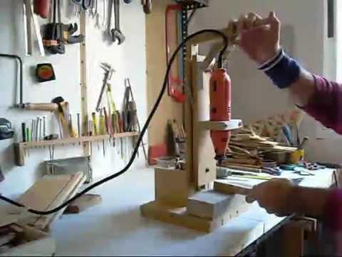 Como hacer un soporte para minitaladro casero parte 3 for Como hacer un criadero de peces casero