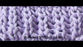Repeat youtube video Brioche Stitch