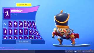 Fortnite Emote Dance Therapy Bass Boosted With Memes