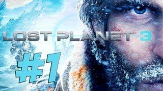 Lets Play LOST PLANET 3 Deutsch Part 1 German Walkthrough Gameplay 1080p