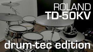 Roland TD-50KV drum-tec Edition electronic drum kit now available