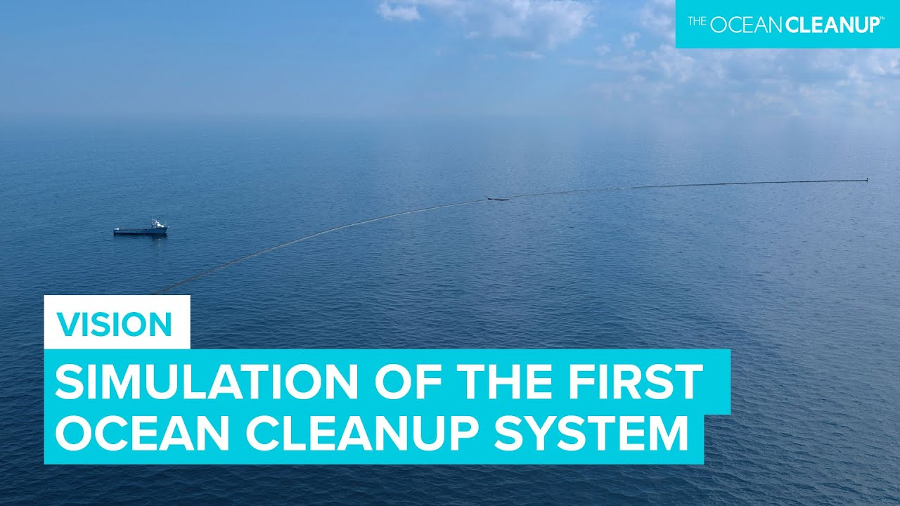 Deploying The Ocean Cleanup Simulation Youtube
