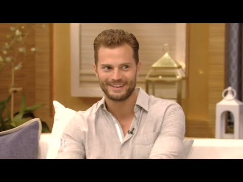 Jamie Dornan  Live with Kelly 5.08.16