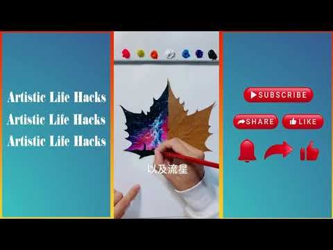Artistic Life Hacks #3 | Super Easy Painting Ideas with Recycled furniture  | Creative Art