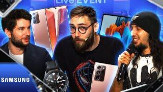 Les nouveautés présentées pendant le Samsung Galaxy Unpacked 📱   Live Event