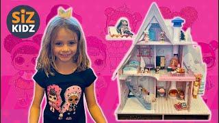 LOL Surprise Dolls    LOL Dolls    LOL Surprise Winter Disco Chalet Wooden Doll House