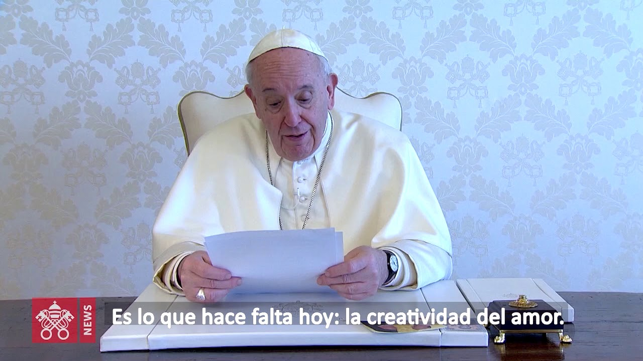 Video Mensaje del Papa para la Semana Santa 2020