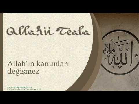 Allah'ın Kanunları Değişmez - Sorularla İslamiyet