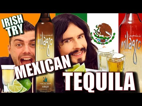 Irish People Taste Test MEXICAN TEQUILA!!