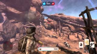 Star Wars Battlefront -  Near Perfect Taunt
