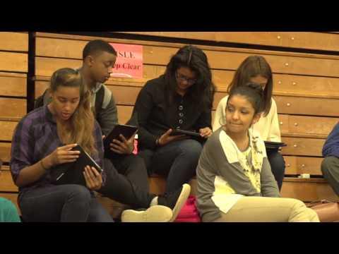 iPad Deployment at Hudson's Bay High School