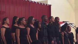 Big K's Namibian music group performing