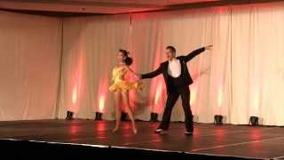 "Renaud & Tania - Salsa ""Varsity"" - Toronto International Bachata congress 2013 - Saturday night"
