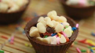 Шоколадные Капкейки с Начинкой - DIY Еда и Напитки - Guidecentral
