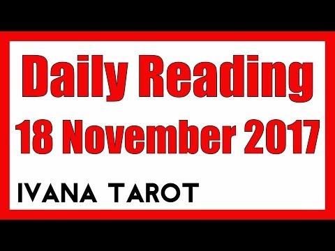 💘 WHAT WOMEN WANT Daily Reading 18 November 2017 - Ivana Tarot