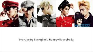 SHINee - Everybody [Hangul/Romanization/English] Color & Picture Coded HD