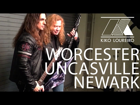 Megadeth goes to Worcester, Uncasville and Newark