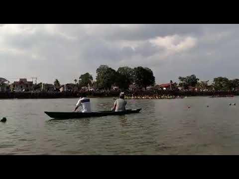 Perahu Jalur Alikhlas Juara 1 Di Danau Sipin Resort Dalam Rangka Ulangtahun Kota Jambi