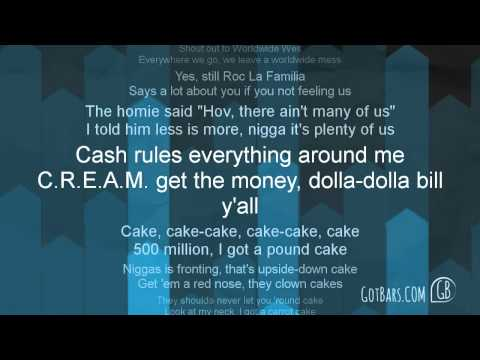 Drake ft  Jay Z   Pound Cake Lyric