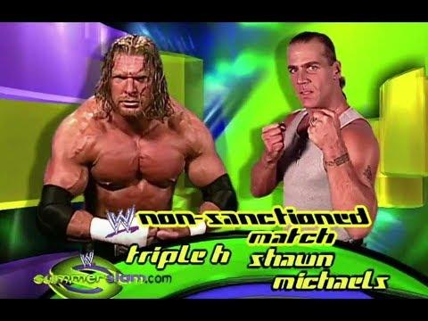 TRIPLE H VS SHAWN MICHAELS - SUMMERSLAM 2002 ( PROMO ) - YouTube