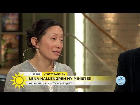 """Lena Hallengren ny minister – """"Löfven hoppas att hon ska hålla skutan flytande över valet"""""""