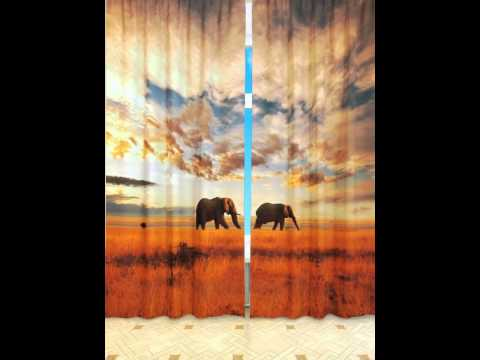 Фото шторы для гостиной