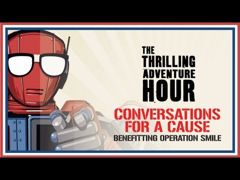 """Thrilling Adventure Hour"" Conversation w/ Cast & Creators - Nerd HQ (2013) HD - Paul F. Thompkins"