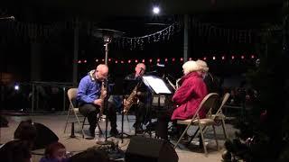 Lighting Of The Trees Ceremony 2017 Santa Fe, NM Plaza - High Desert Saxophone Quartet Clip 4
