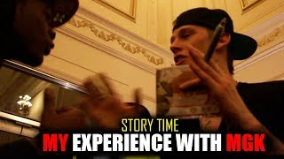 My Experience With Machine Gun Kelly (Story Time)