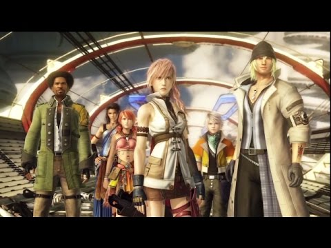 Final Fantasy XIII Anime Opening