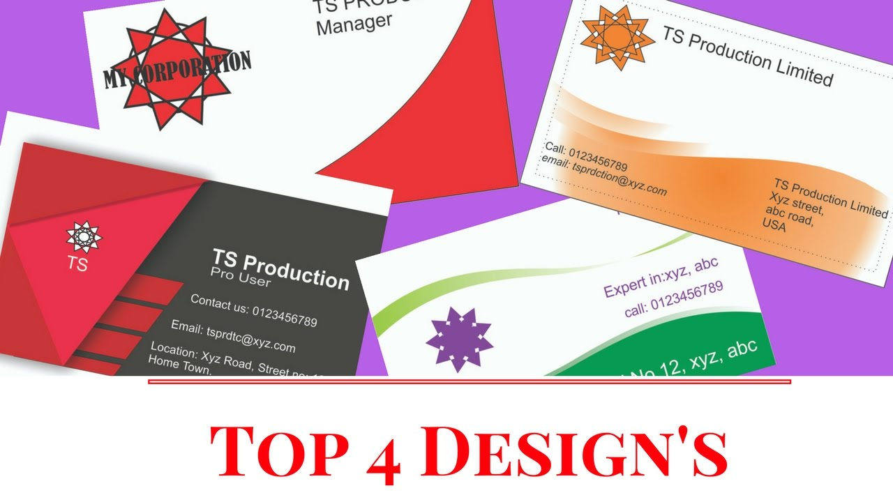 Corel Draw Business Card Templates Free Download Episode 10 Youtube