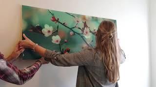 Montageanleitung Acrylglas  - Tutorial   wall-art.de