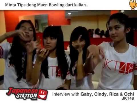 Spesial Interview JKT48 Member: Gaby, Cindy, Rica, Ochi