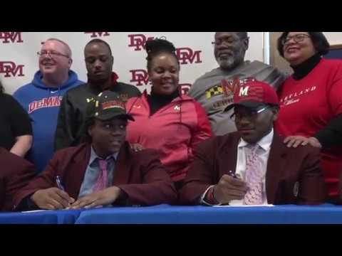 TLBTV: National Signing Day at DeMatha Catholic High School