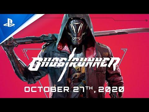 Ghostrunner - Preorder Trailer   PS4